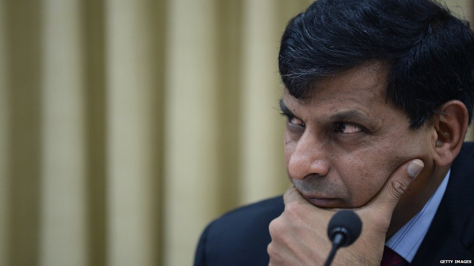 Raghuram Rajan, the governor of the Reserve Indian Bank