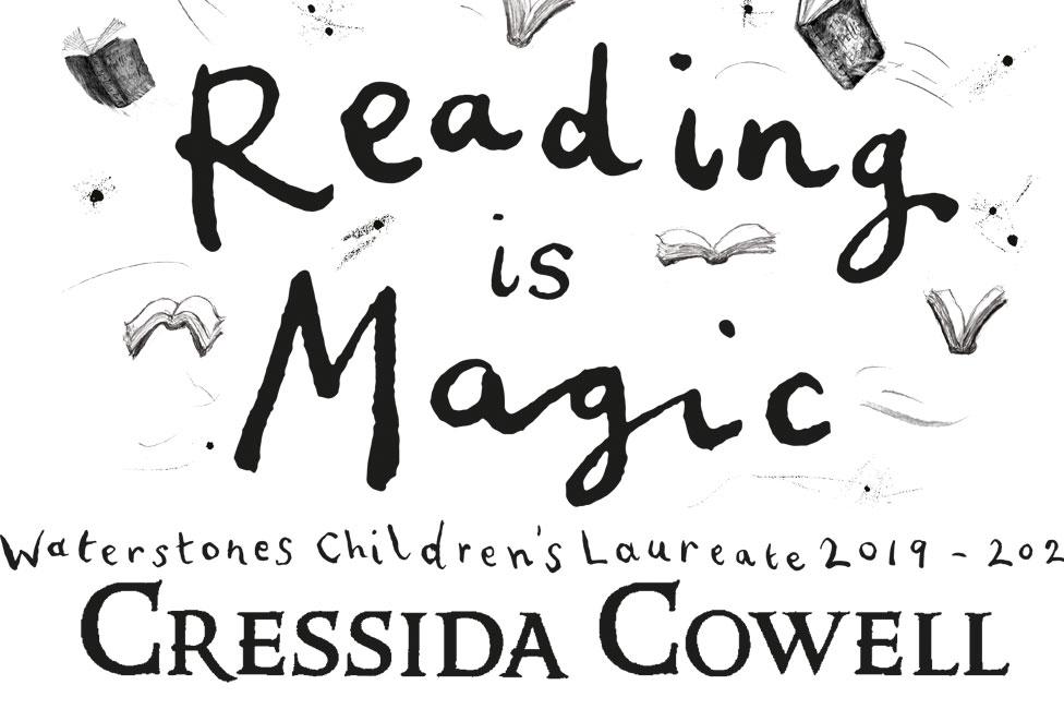 Cressida Cowell graphic