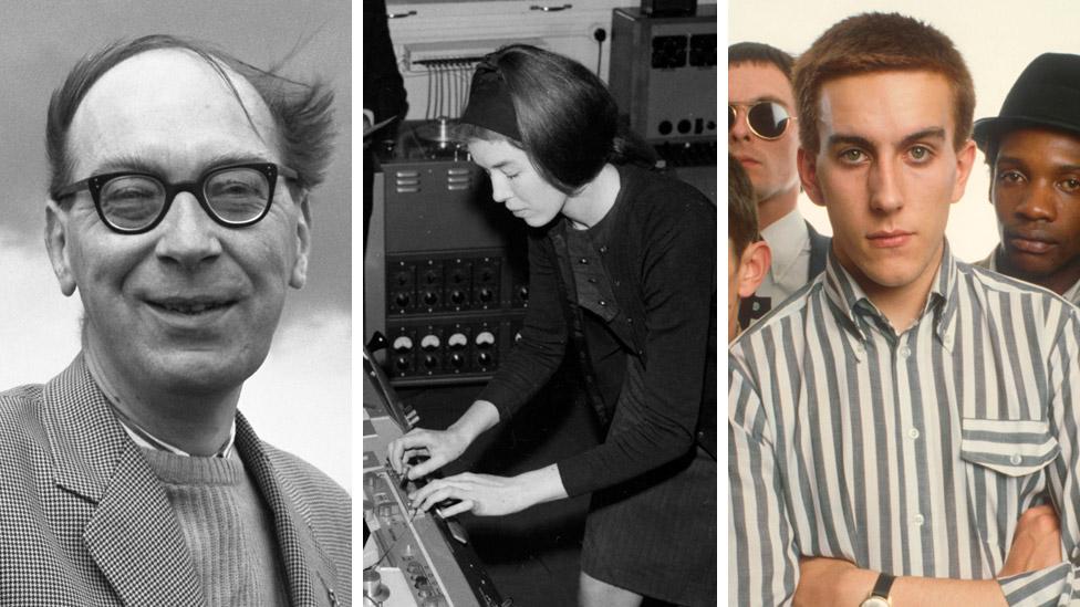 Philip Larkin, Delia Derbyshire and The Specials