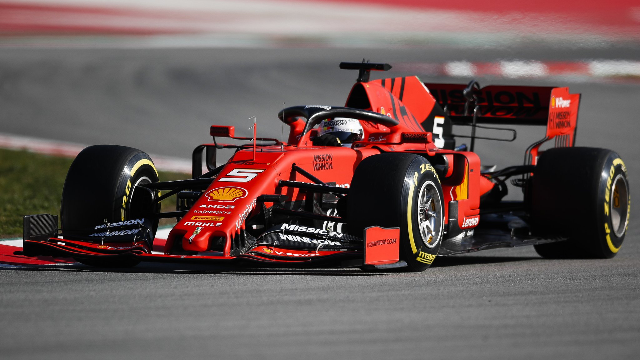 Williams in turmoil as Vettel fastest on first day of testing