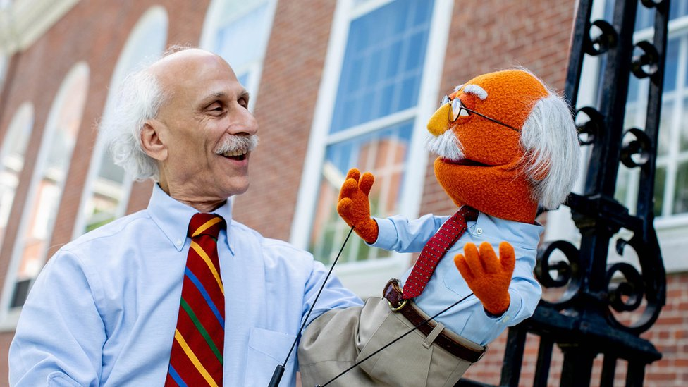 Professor Joe Blatt was given a Muppet in his likeness for his research into Sesame Street