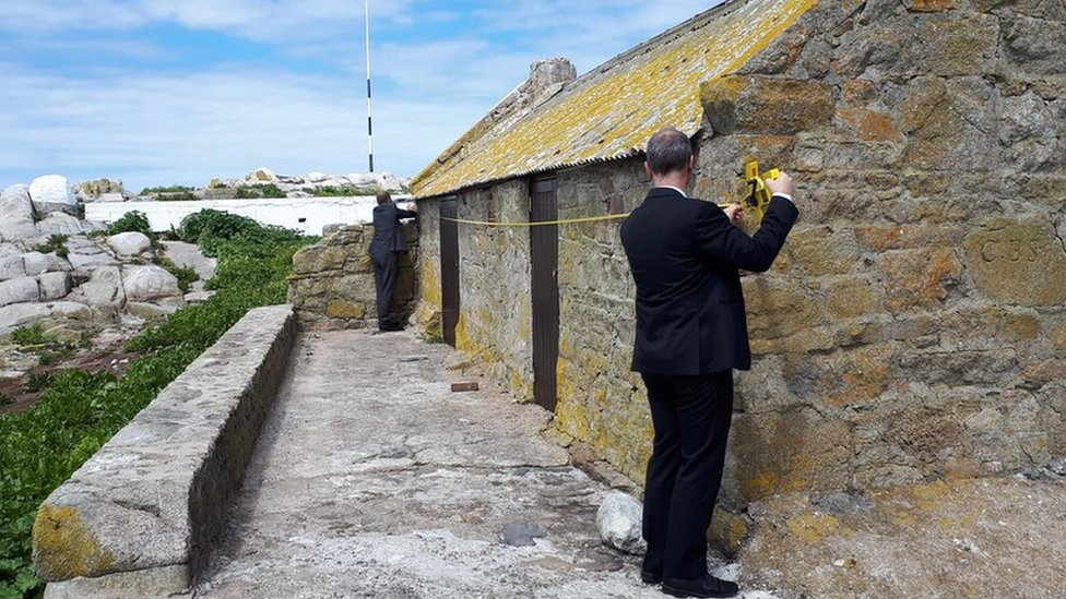 Hut sold on southernmost point of British Isles