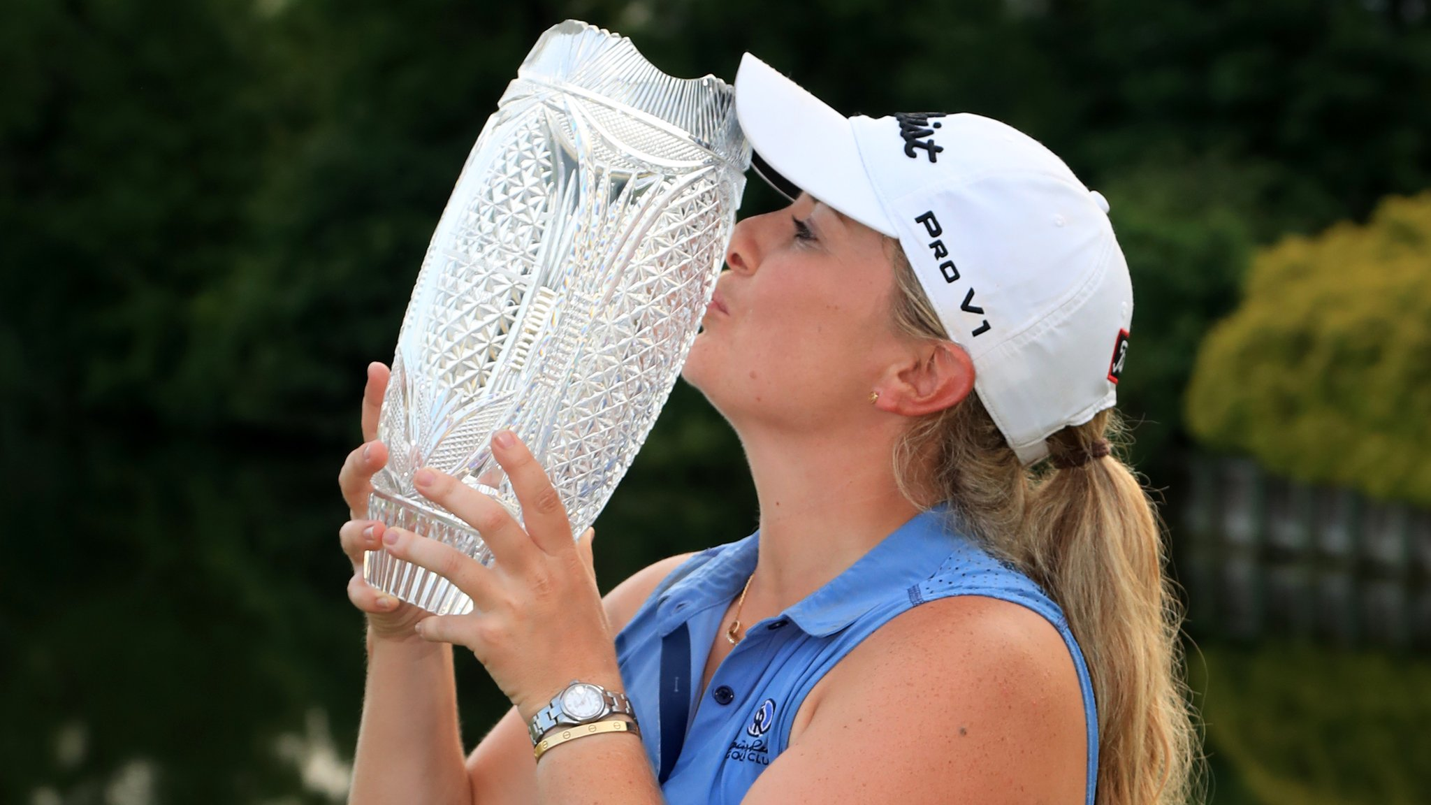 Pure Silk Championship: Bronte Law wins first LPGA Tour title