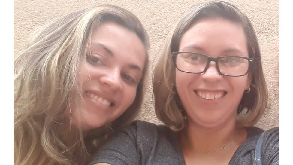 Lucilene y Luciana.