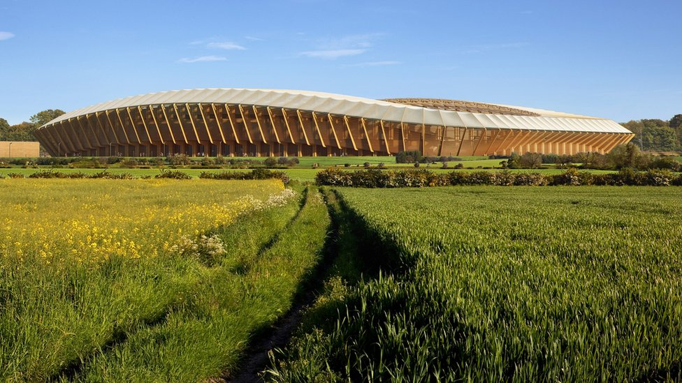 Forest Green Rovers' wooden stadium plan rejected