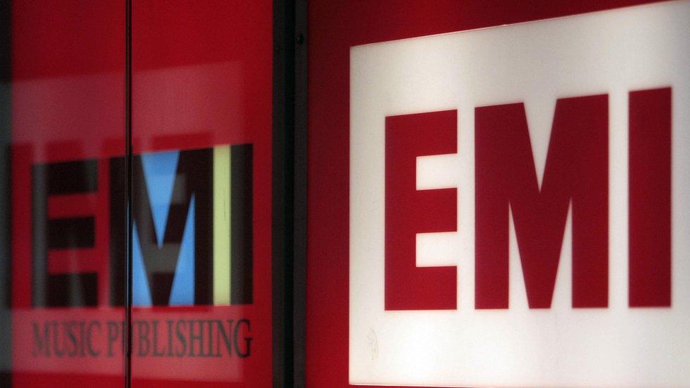 EMI logos