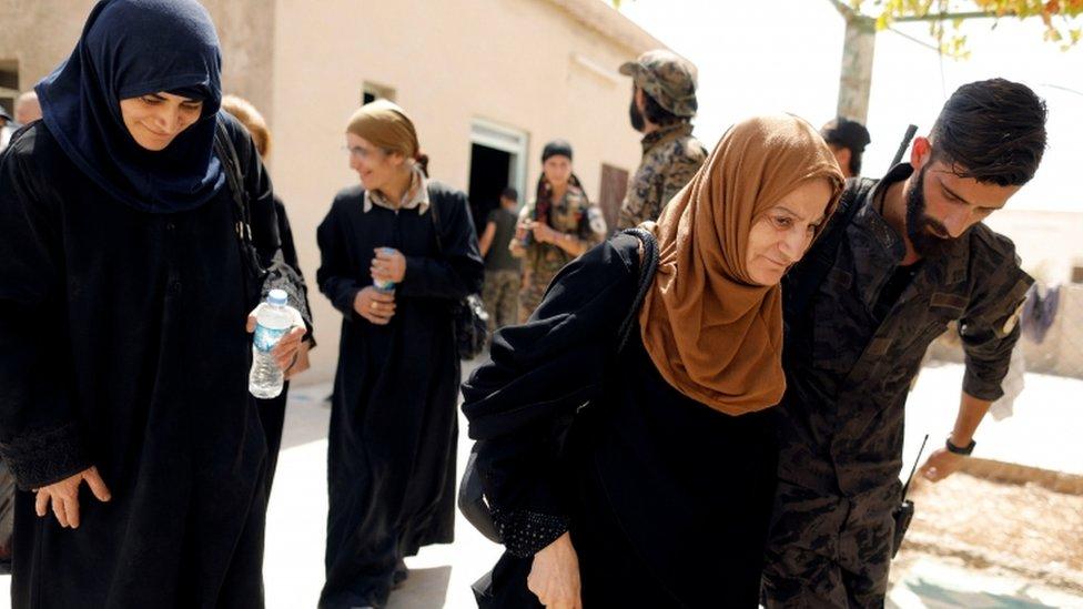 Raqqa, Suriah, pengungsi