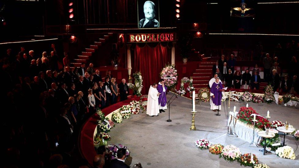 Funeral de Rosa Bouglione