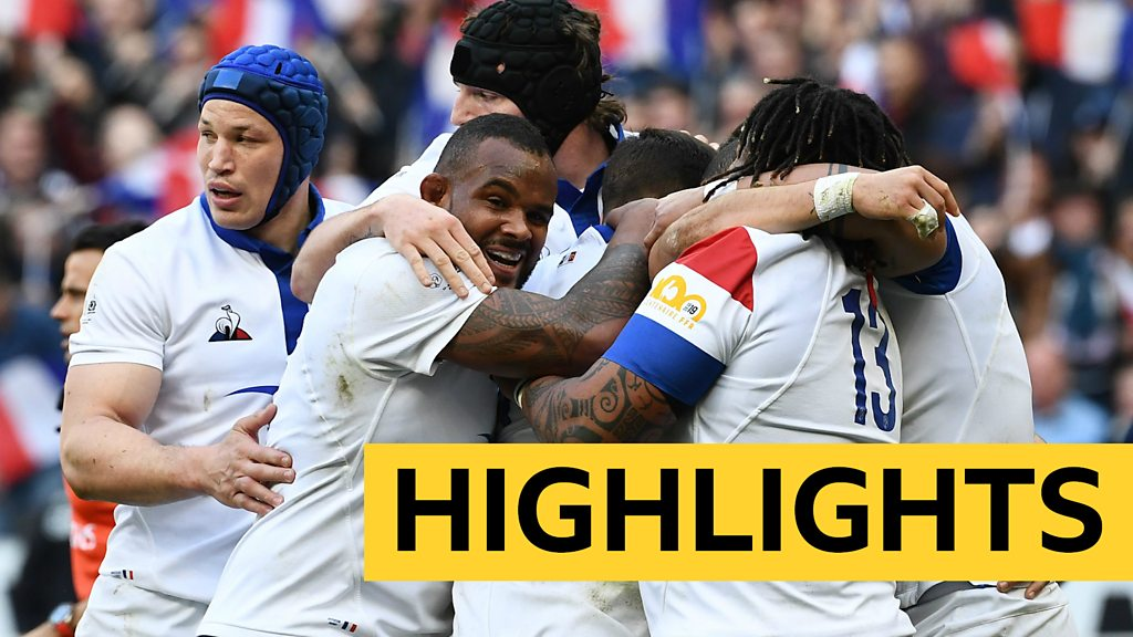 Six Nations 2019: France beat Scotland