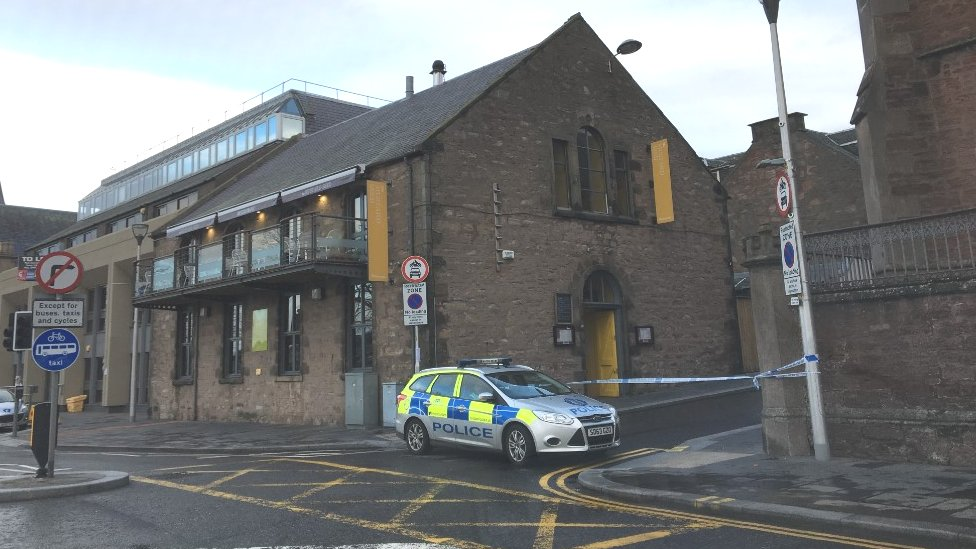 Man found 'significantly injured' in Inverness street