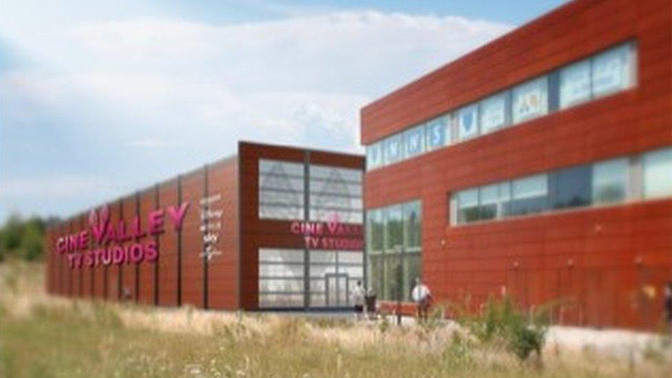 Cine Valley TV studios