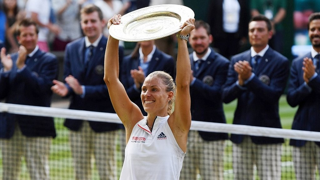 Kerber stuns Williams to win Wimbledon - highlights & report
