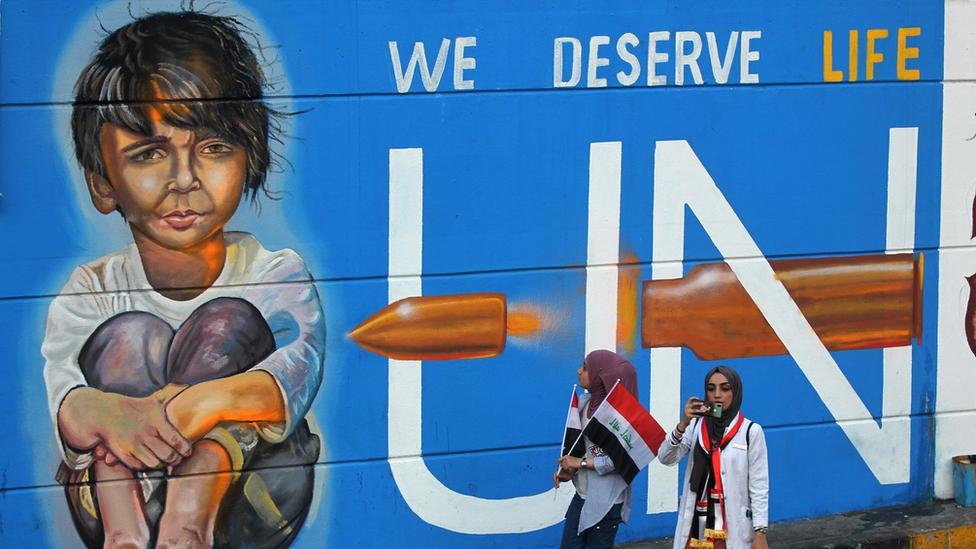 Mural en Bagdad