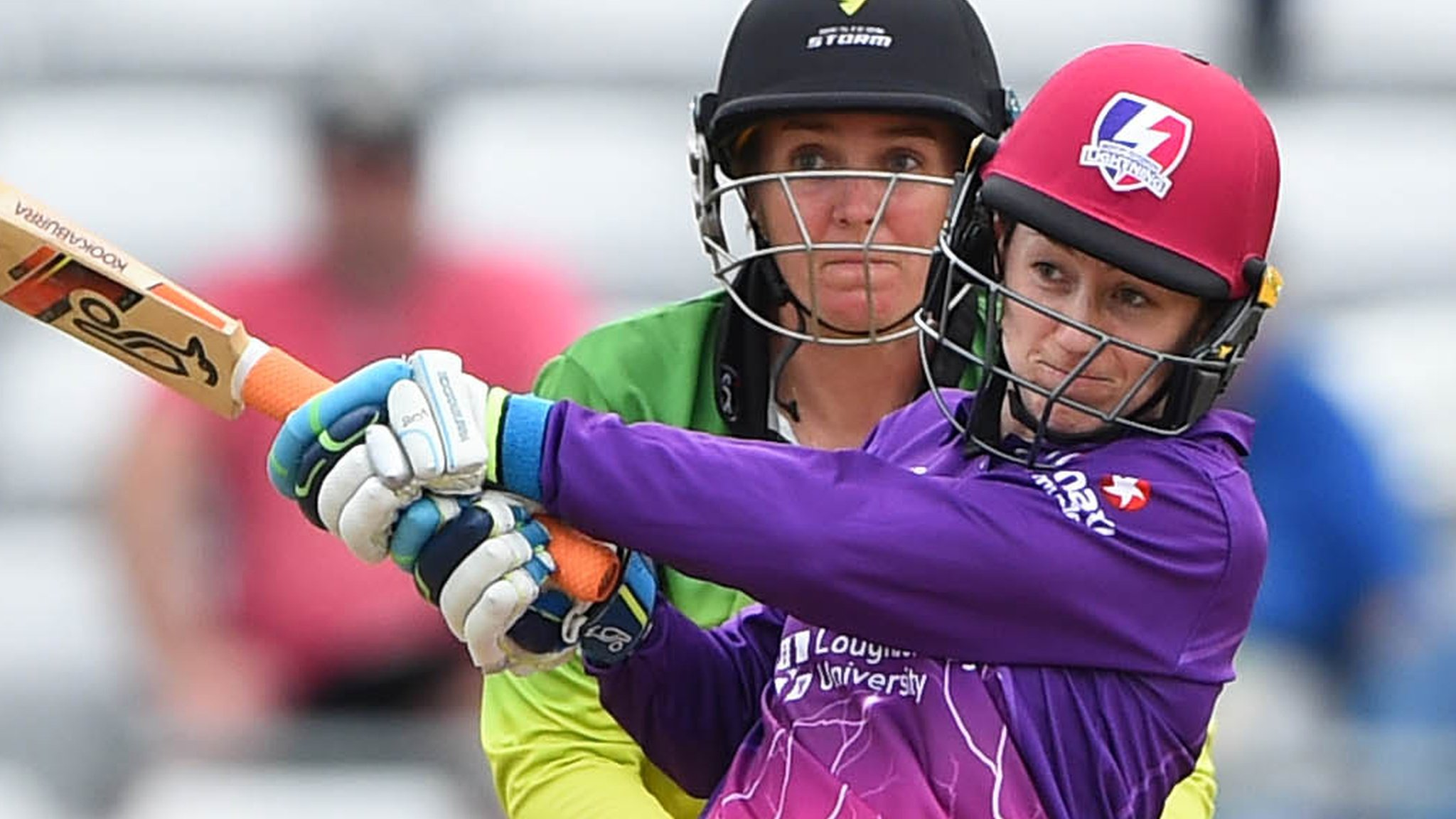 Kia Super League: Loughborough Lightning set up final place despite defeat