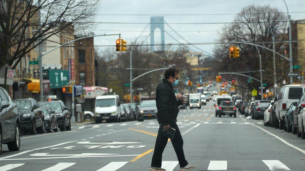 تعد مدينة نيويورك من المدن التي ضربها فيروس كورونا بشدة