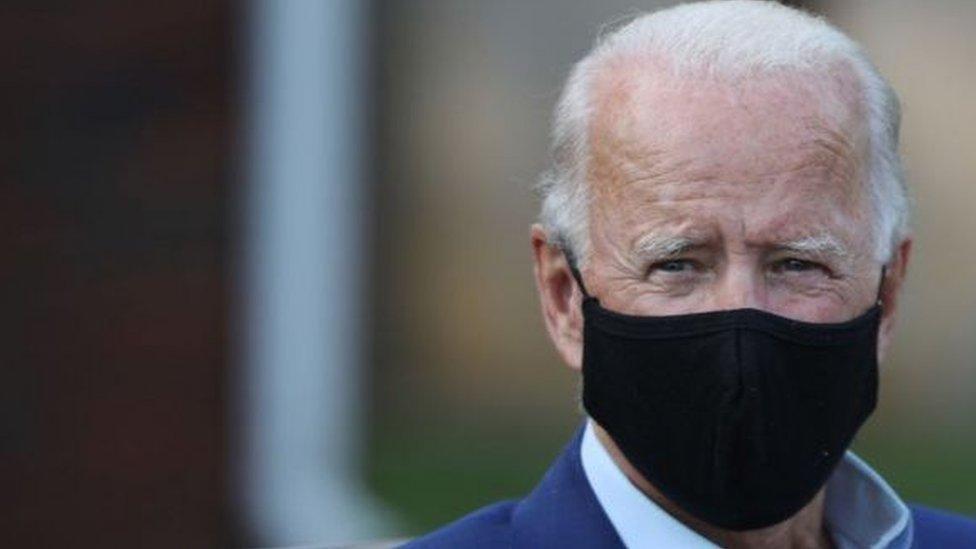 المرشح الرئاسي الديمقراطي جو بايدن شكك في كثير من مزاعم ترامب الخاصة بفيروس كورونا