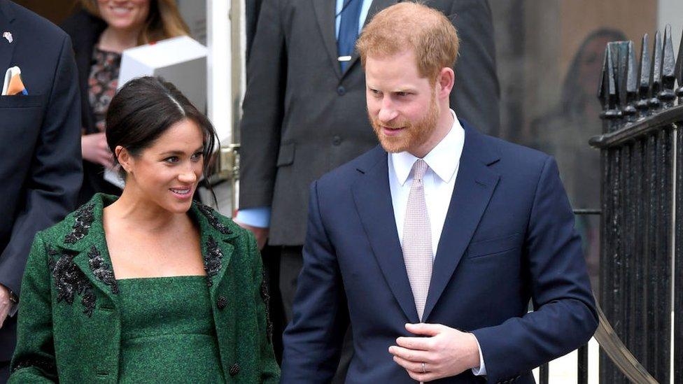 Los Duques de Sussex, el príncipe Harry y Meghan Markle.