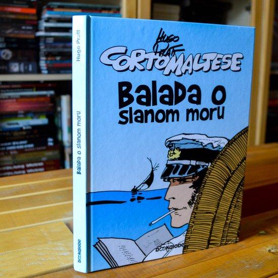 Balada o slanom moru je prvi u seriji stripova o Korto Maltezeu