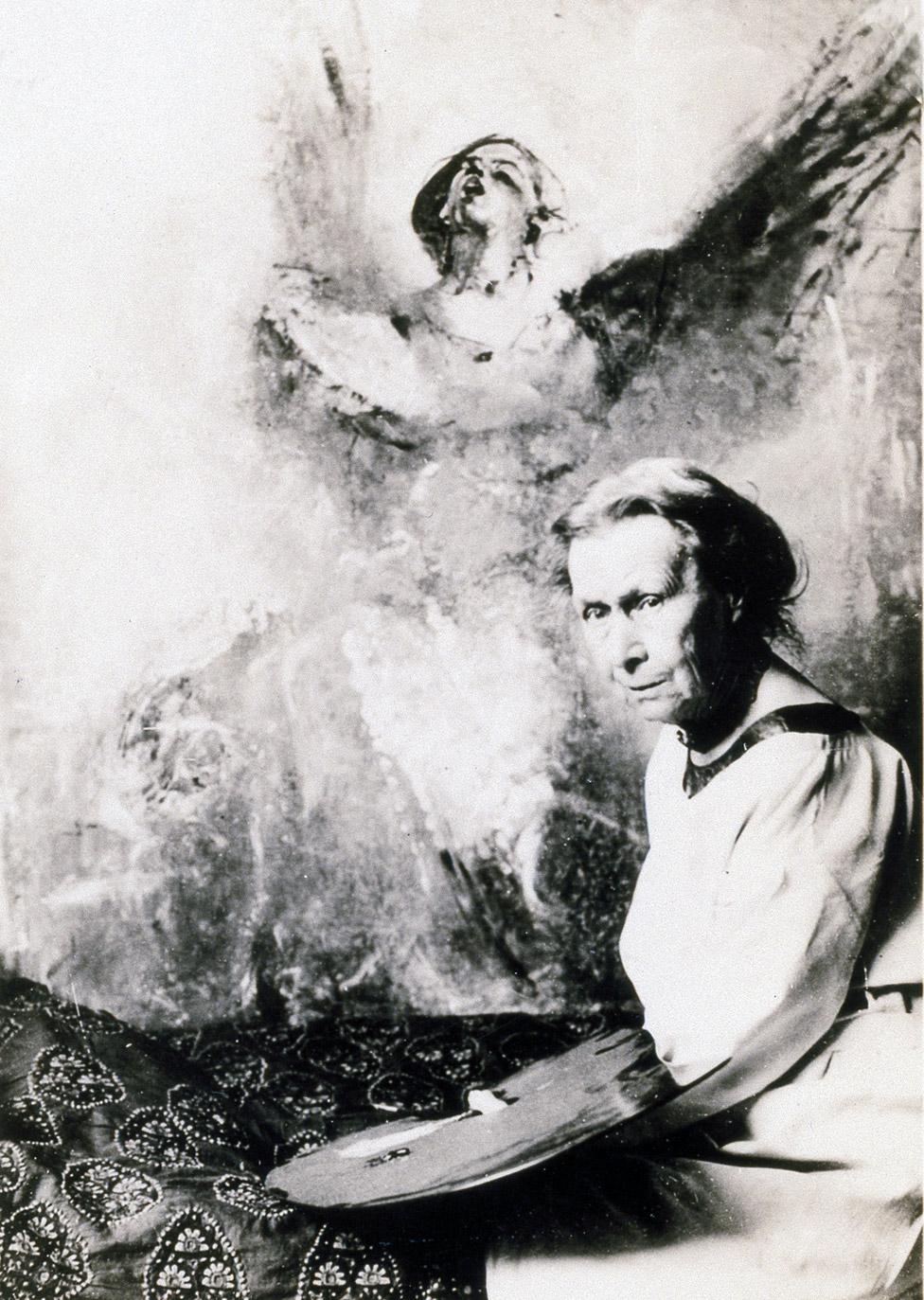 Annie Swynnerton, pictured in 1931