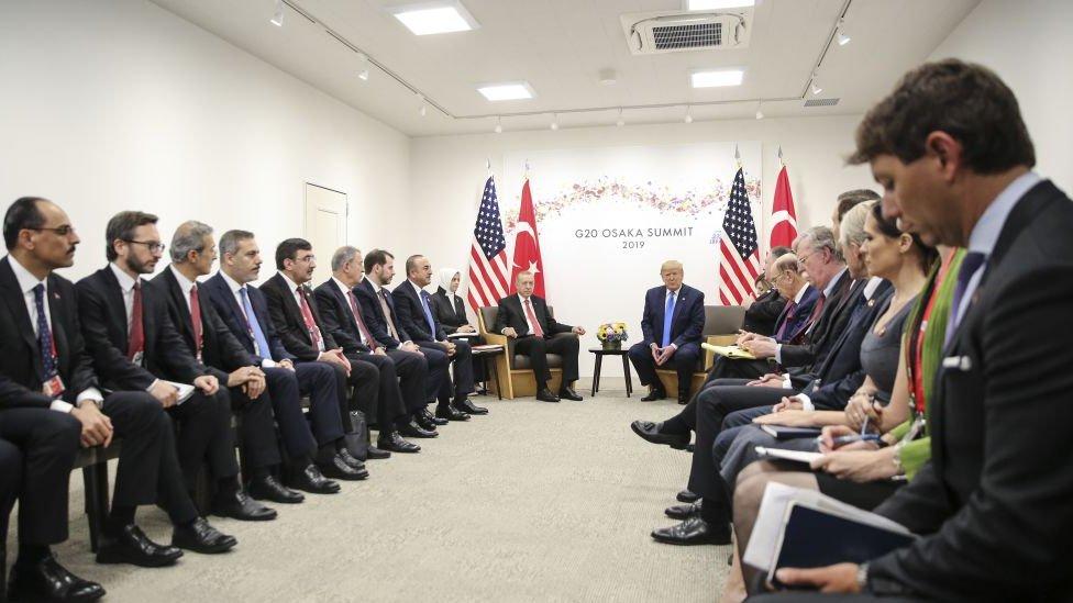 Erdoğan ve Trump, Haziran ayında Japonya'da yapılan G20 Zirvesi'nde bir araya gelmişti.