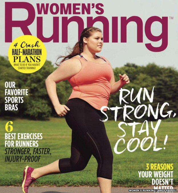 Fat and fit: The plus-size model and