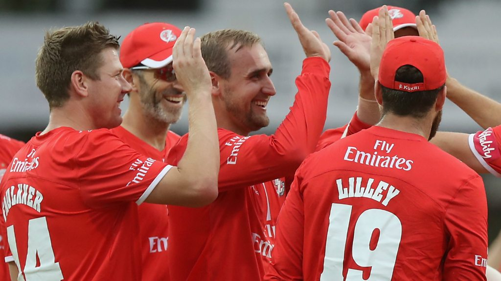T20 Blast: Liam Livingstone stars as Lancashire Lightning beat Leicestershire Foxes