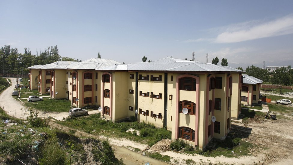 Government colony for Kashmiri pandits in Sheikhpora in Budgam