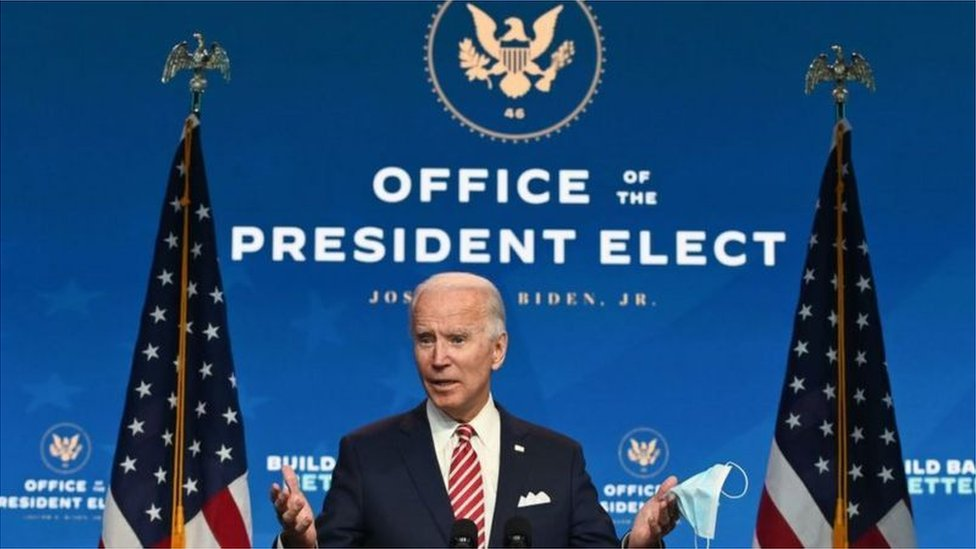 拜登已經成立了總統當選人辦公室(Credit: Getty Images)