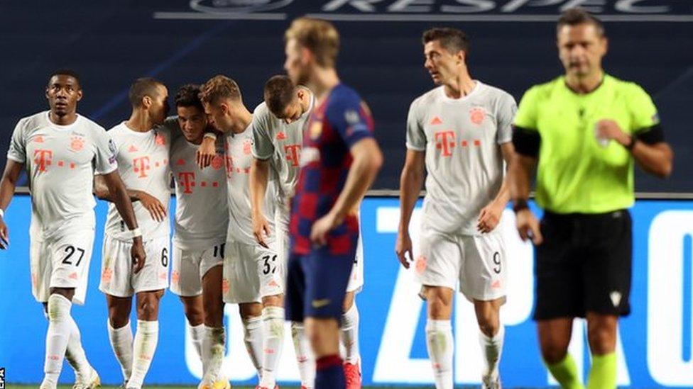 أنهى برشلونة موسم 2019/ 2020 بدون لقب كبير