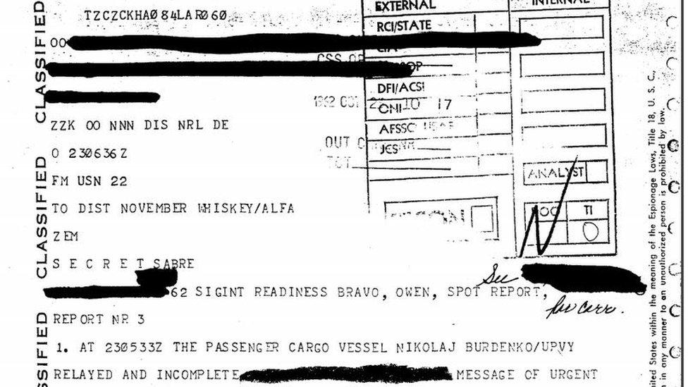 Mensaje de la NSA