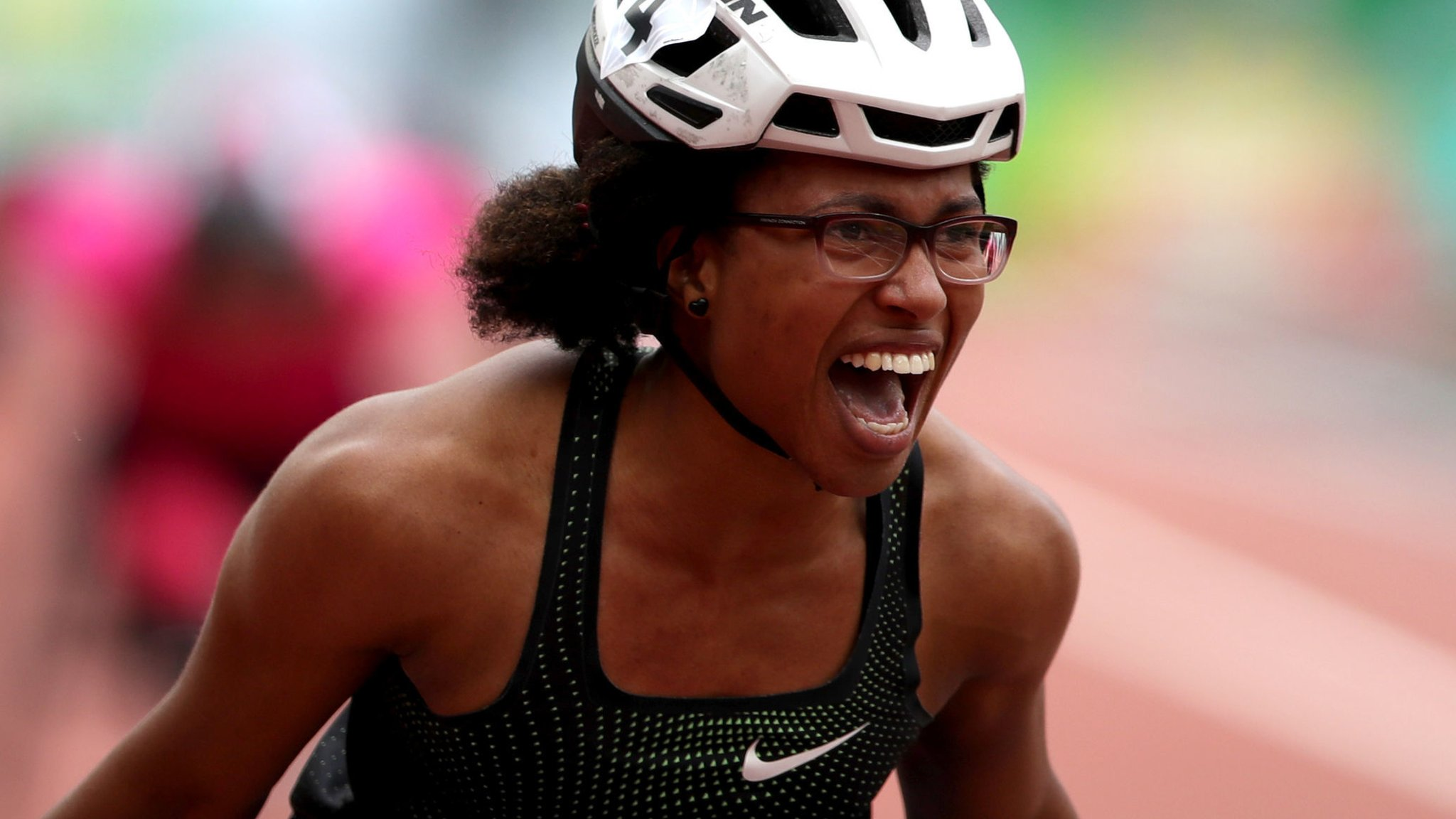 London Anniversary Games: Kare Adenegan & Sophie Hahn set world records