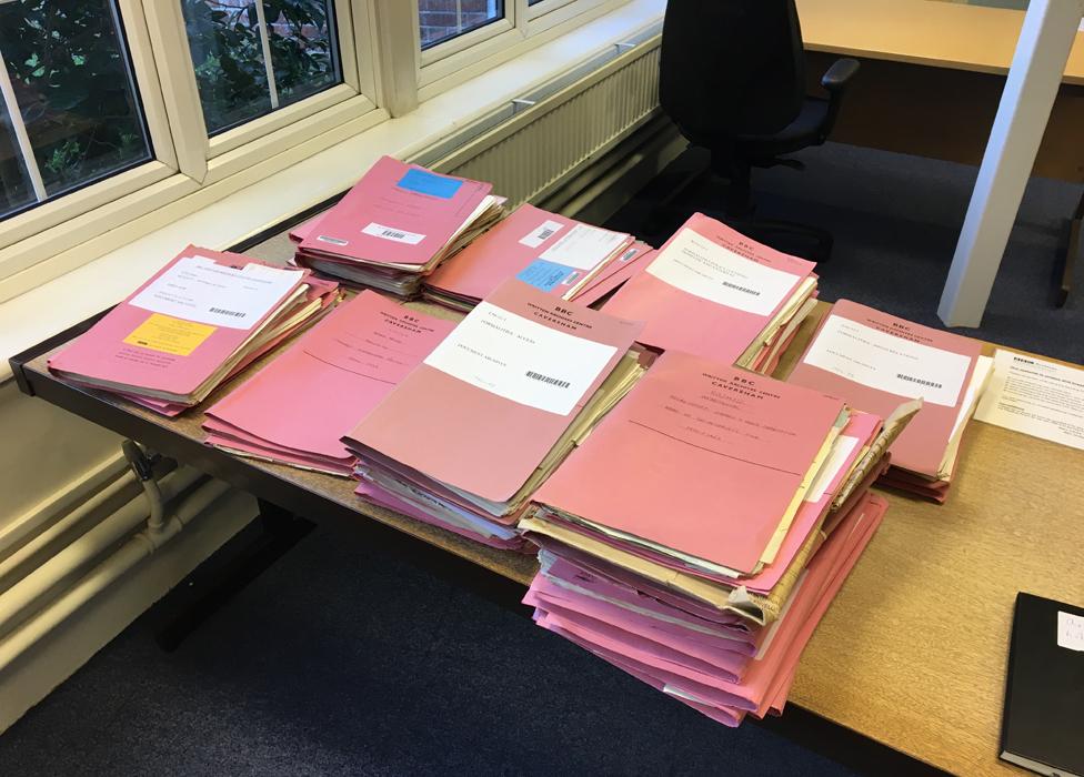 Dosijei o proveri u BBC-jevim Pisanim arhivama u Kaveršamu