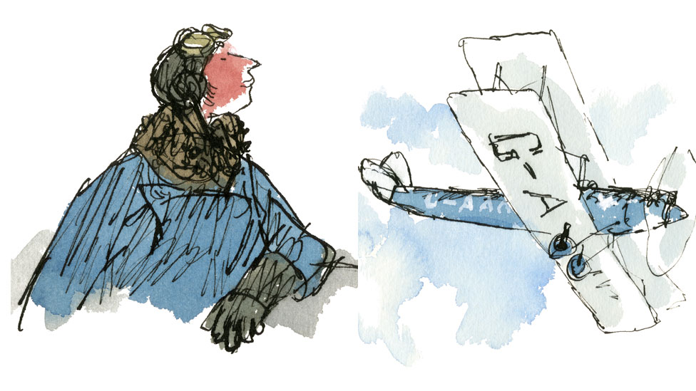 Sir Quentin Blake brings science pioneers to life