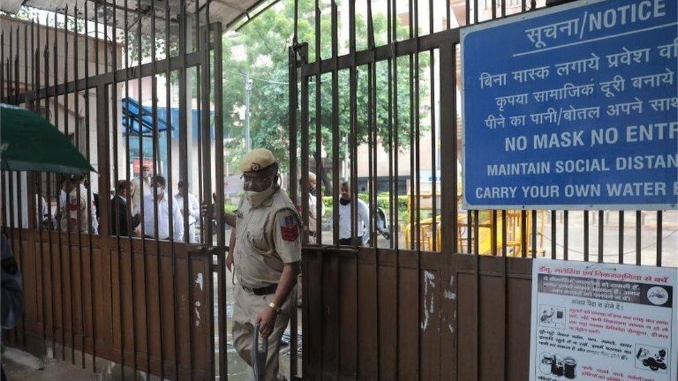 المحكمة في العاصمة الهندية دلهي