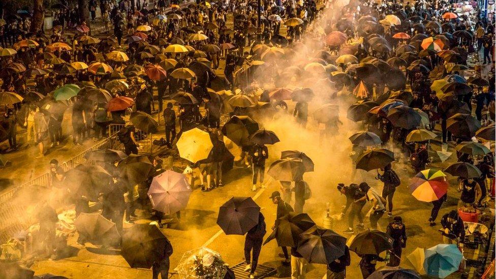 protesats hong kong