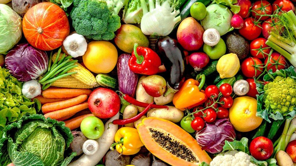 sveže voće i povrće