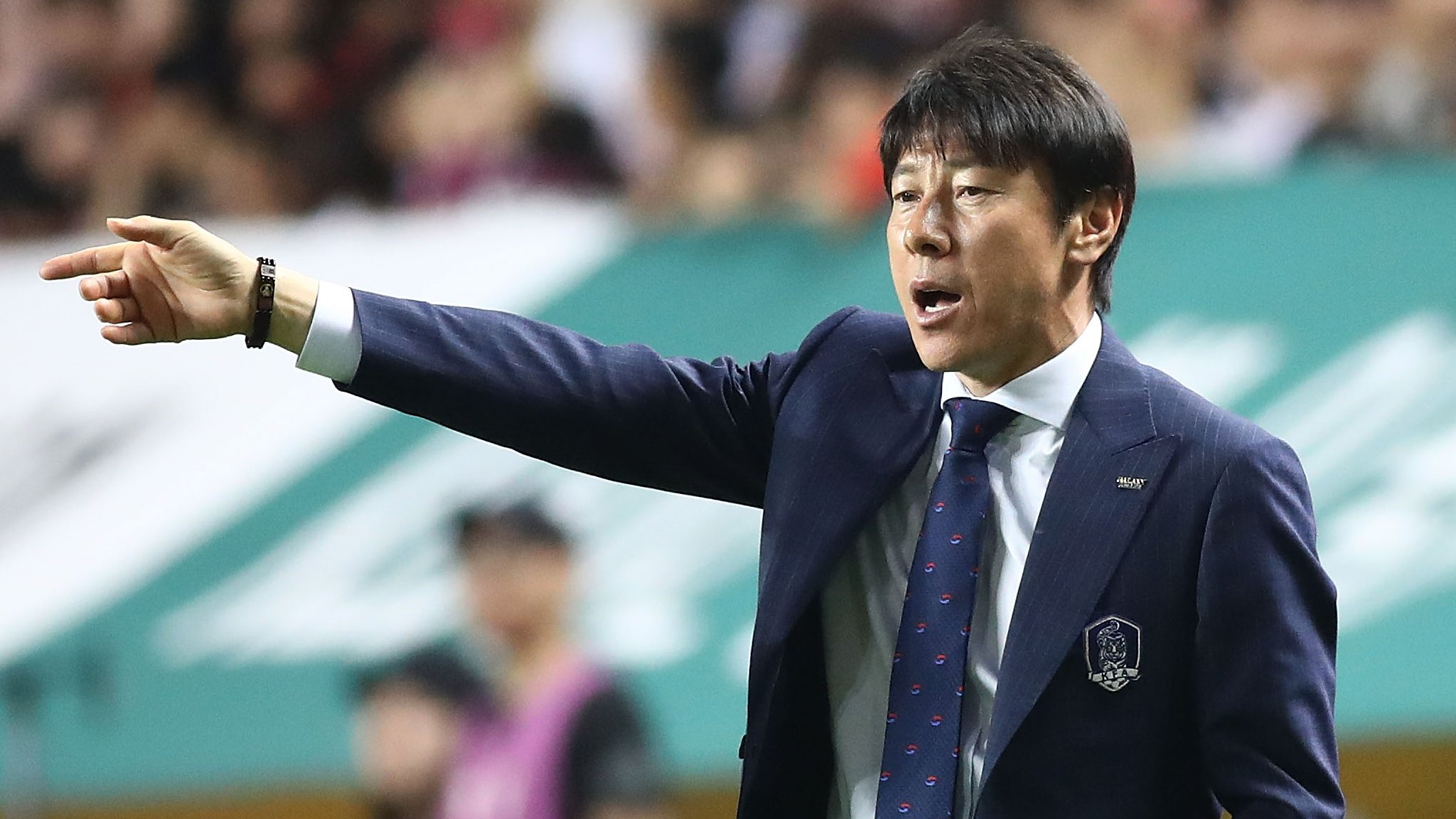 South Korea coach made players swap shirts to try to confuse opposition