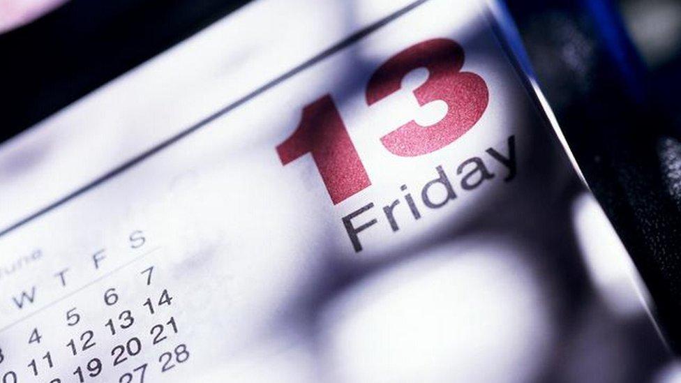 kalendar, petak trinaesti