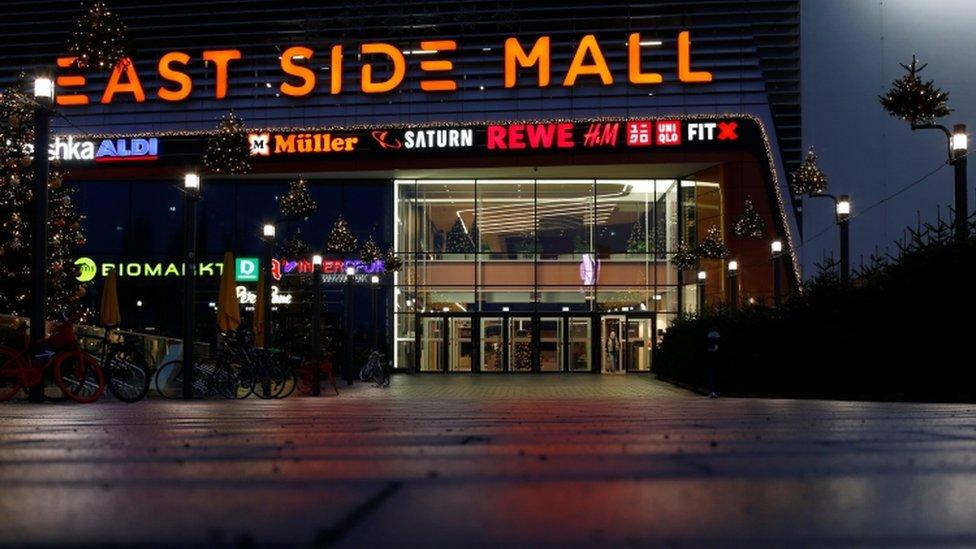 East Side Mall in Berlin - 16 December