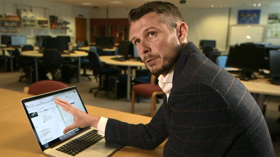 Cyber crime expert Dr Pete Burnap