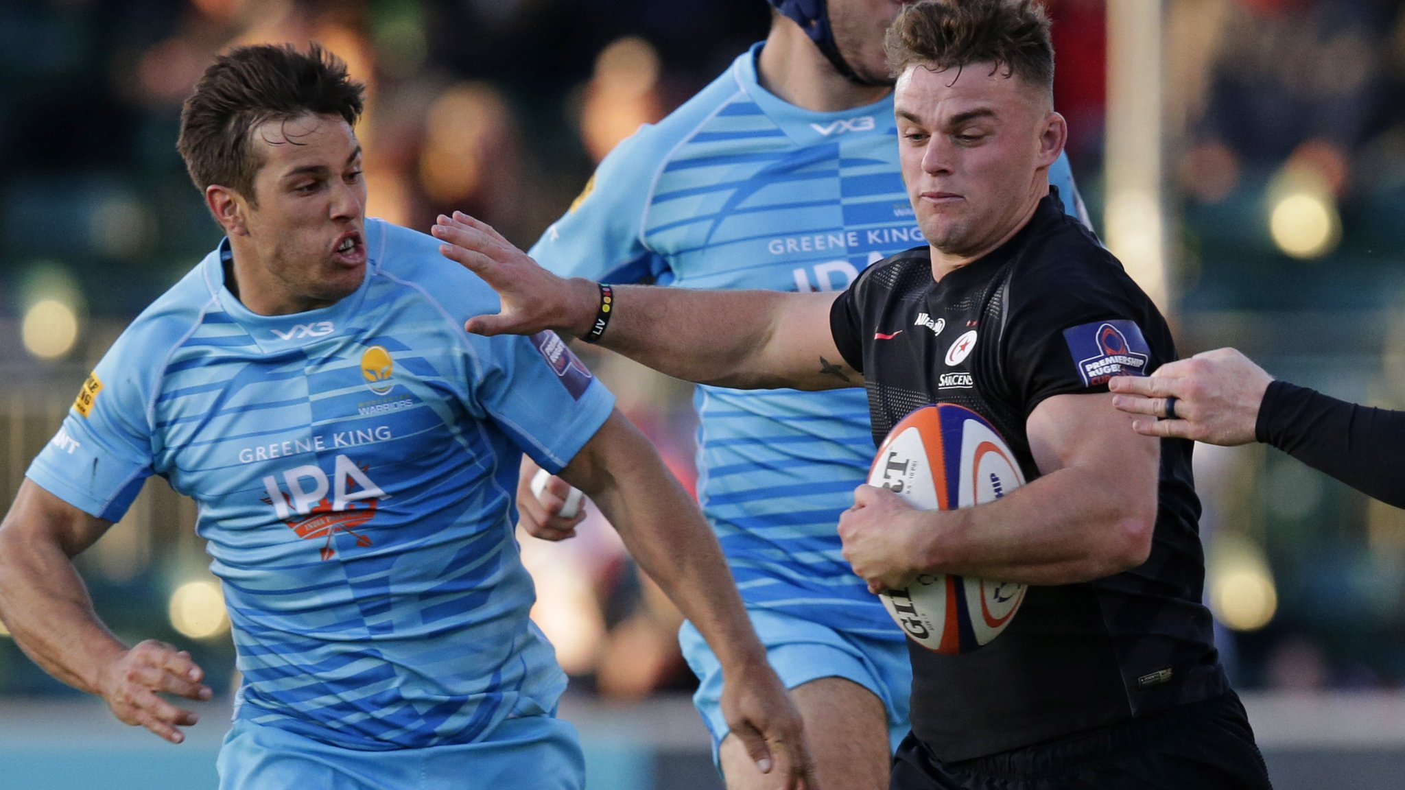 Premiership Rugby Cup: Saracens and Bristol win to maintain semi-final hopes