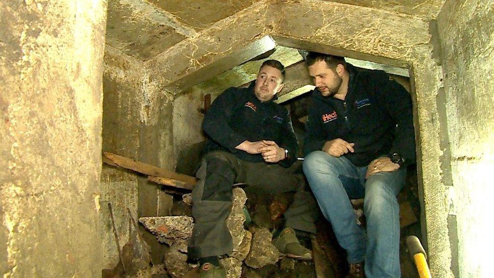 World War Two bomb shelter found under Hampshire garden