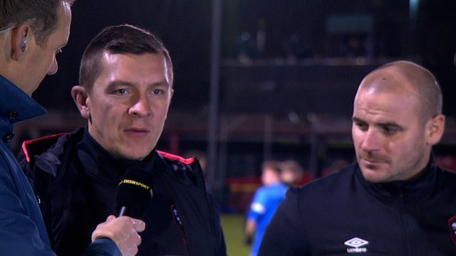 Draw felt like defeat - Salford managers