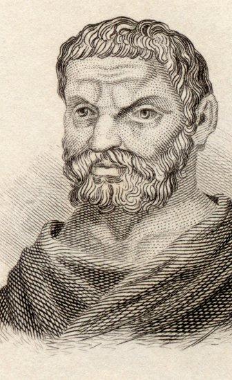 El filósofo Tales de Miletus