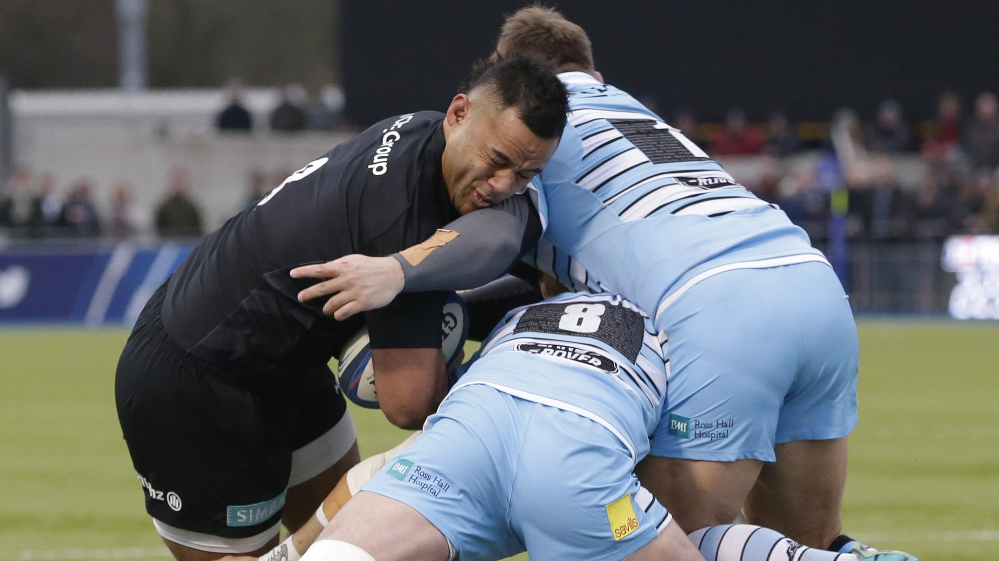 Saracens and Glasgow paired again in quarter-final draw