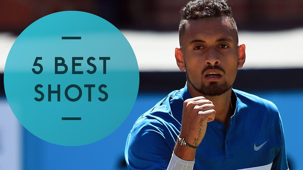 Queen's Club 2018: Nick Kyrgios edges past Feliciano Lopez