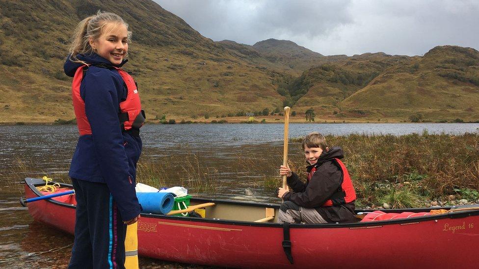 Cluett canoe