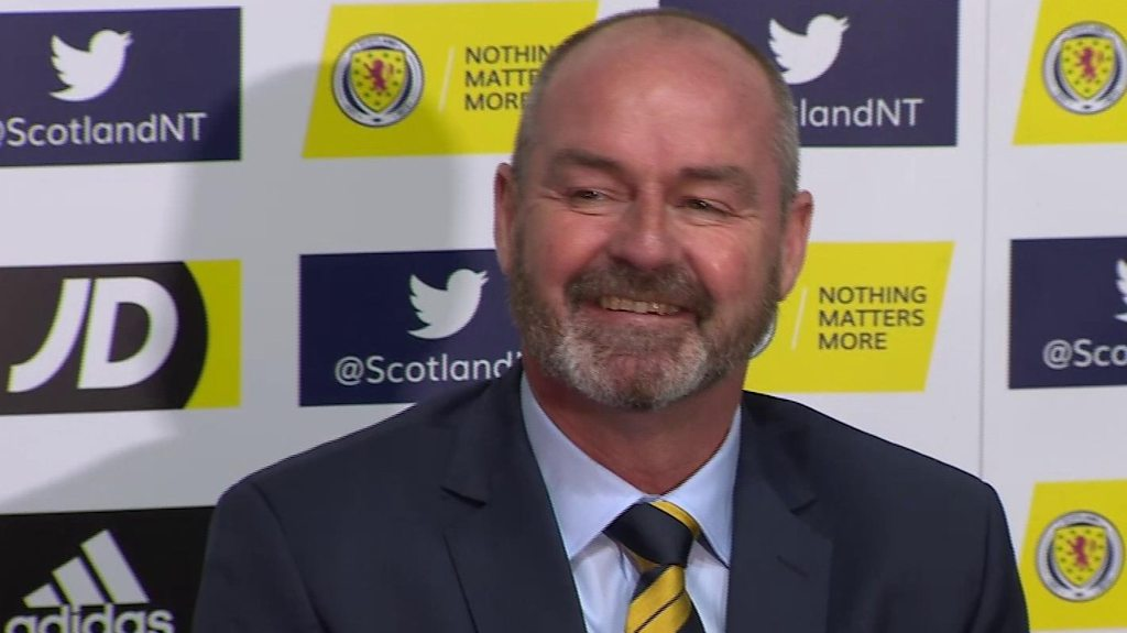 Scotland manager Steve Clarke: 'If I was lazy, I'd still be at Chelsea'