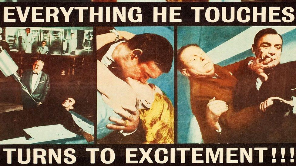 Afiche de Goldfinger