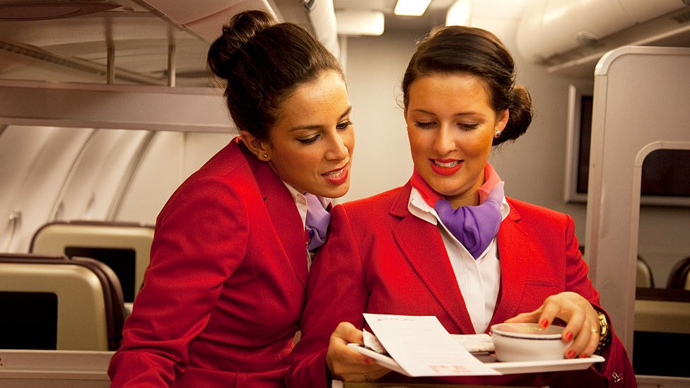 Virgin Atlantic flight attendants